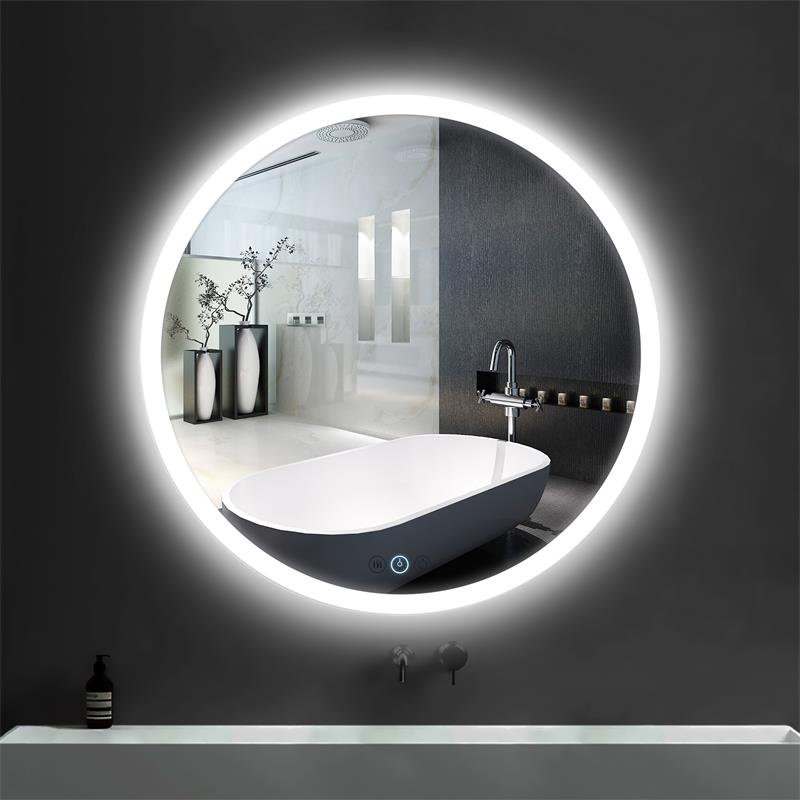 Round Bathroom LED Mirror LK-M500L